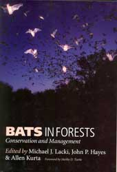 bats in forests: conservation and management